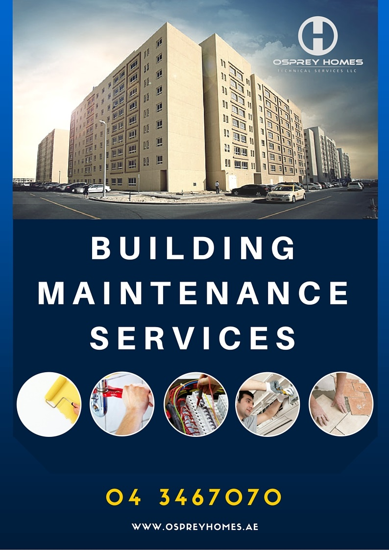Building Maintenance Companies : Building maintenance services company in dubai osprey homes